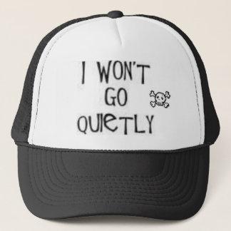 私はQuitely行きません キャップ