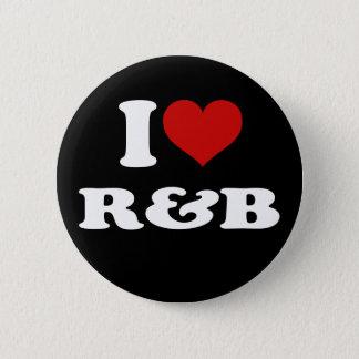 私はR&Bを愛します 5.7CM 丸型バッジ