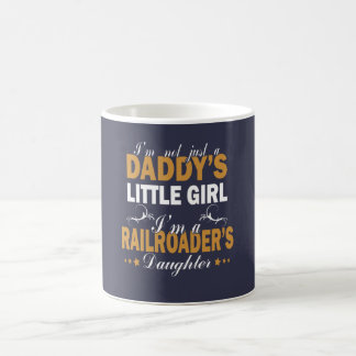 私はRAILROADERの娘です コーヒーマグカップ