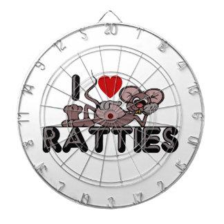 私はRattiesを愛します ダーツボード