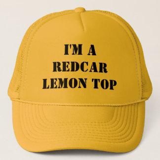 私はRedcarレモン上の帽子です キャップ
