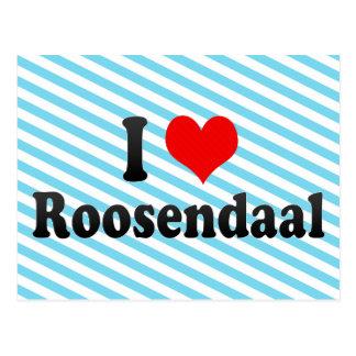 私はRoosendaalのオランダを愛します ポストカード