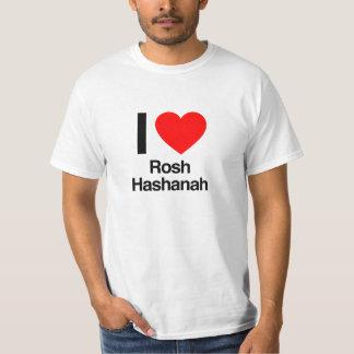 私はroshのhashanahを愛します tシャツ