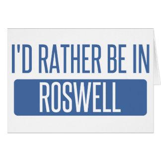 私はRoswell GAにむしろいます カード