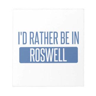 私はRoswell GAにむしろいます ノートパッド
