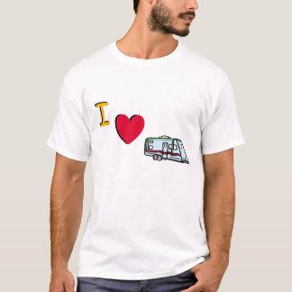 私はRVINGを愛します Tシャツ