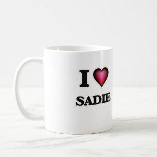 私はSadieを愛します コーヒーマグカップ