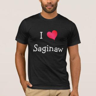 私はSaginawを愛します Tシャツ