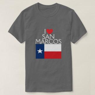 私はSan Marcos、テキサス州を愛します Tシャツ