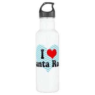 私はSanta Rosa、フィリピンを愛します ウォーターボトル