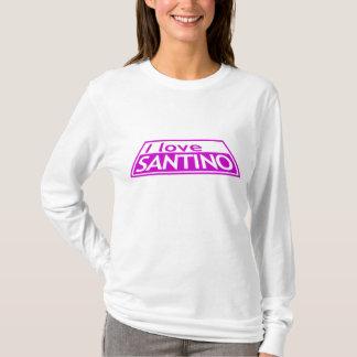 私はSANTINOのプロジェクトの走路ティムGunnハイディKlumを愛します Tシャツ