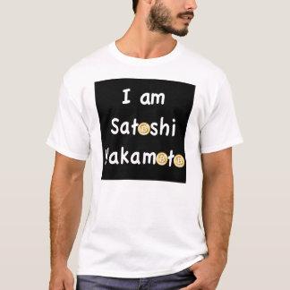 私はSatoshi Nakamoto-の男性Tシャツです Tシャツ