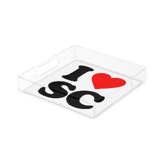 私はSCを愛します アクリルトレー