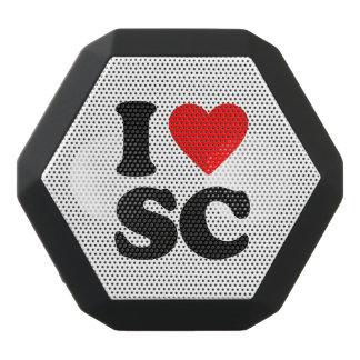 私はSCを愛します ブラックBluetoothスピーカー