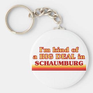 私はSchaumburgのちょっと大事です キーホルダー