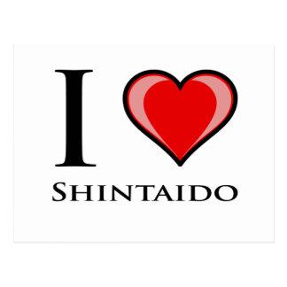 私はShintaidoを愛します ポストカード