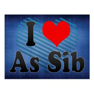 私はSib、オマーンとして愛します ポストカード