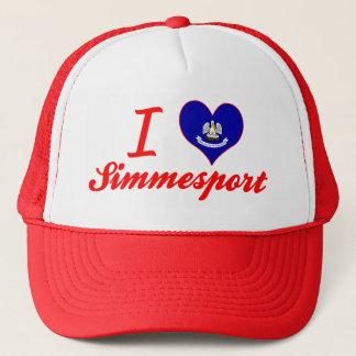 私はSimmesport、ルイジアナを愛します キャップ