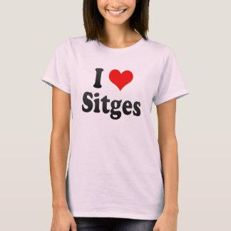 私はSitges、スペインを愛します。 私Encanta Sitges、スペイン Tシャツ