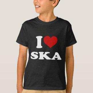 私はSkaを愛します Tシャツ