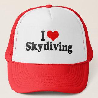 私はSkydivingを愛します キャップ