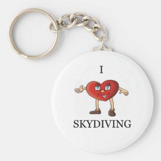 私はskydiving愛します キーホルダー