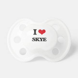 私はSkyeを愛します おしゃぶり