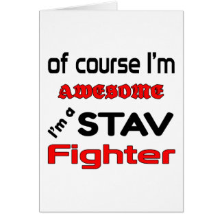 私はStavの戦闘機です カード