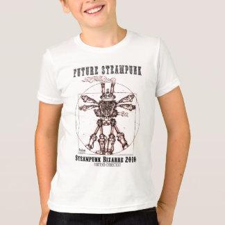 私はSTEAMPUNKのロボットです Tシャツ
