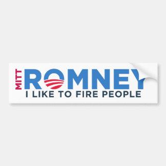 私はTの火の人々を好みます バンパーステッカー