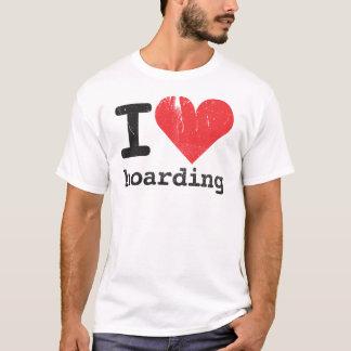 私はTシャツを貯蔵することを愛します Tシャツ