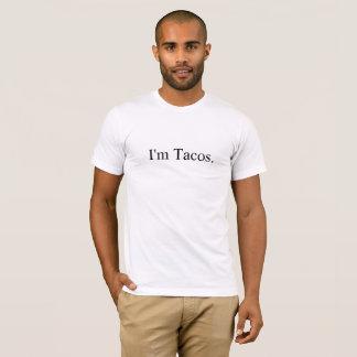 私はTacos.™️です Tシャツ