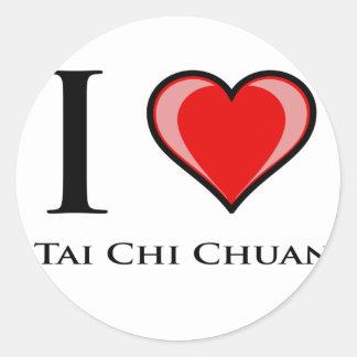 私はTaiのキーChuanを愛します ラウンドシール