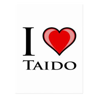 私はTaidoを愛します ポストカード