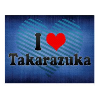 私はTakarazuka、日本を愛します ポストカード