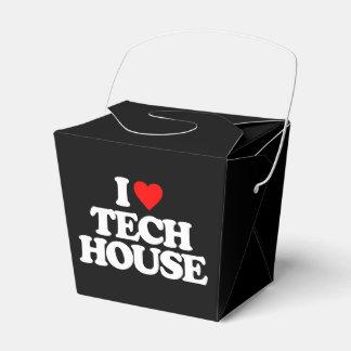 私はTECHの家を愛します フェイバーボックス