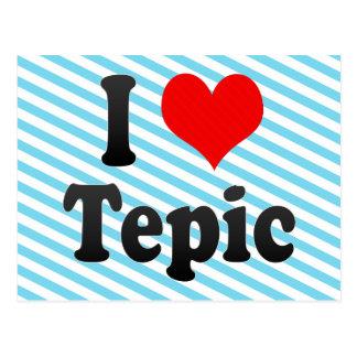 私はTepic、メキシコを愛します。 私Encanta Tepic、メキシコ ポストカード