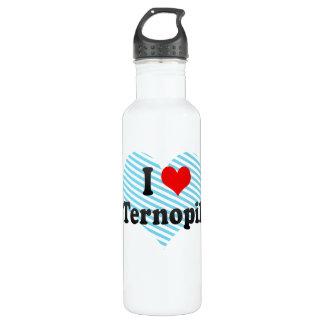 私はTernopil',ウクライナを愛します ウォーターボトル