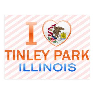 私はTinley公園、ILを愛します ポストカード