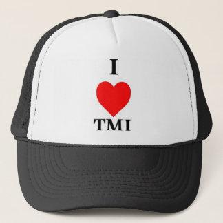 私はTMIを愛します キャップ