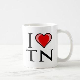 私はTN -テネシー州--を愛します コーヒーマグカップ