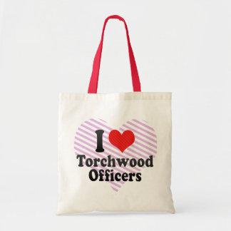 私はTorchwoodの役人を愛します トートバッグ