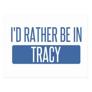 私はTracyにむしろいます ポストカード