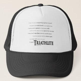 私はTriathleteです キャップ