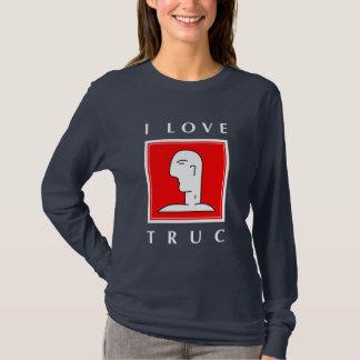 私はTRUCを愛します Tシャツ