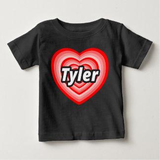 私はTylerを愛します ベビーTシャツ