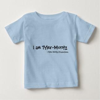私はTyler-Muntzです ベビーTシャツ