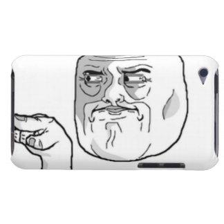 私はUの漫画の表面を見ています Case-Mate iPod TOUCH ケース