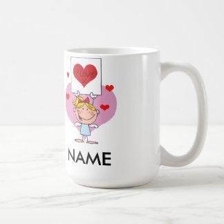 私はUの(カスタマイズ)バレンタインデーのマグをlove コーヒーマグカップ