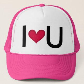 私はUを愛します -- バレンタインのギフトのアイディア キャップ